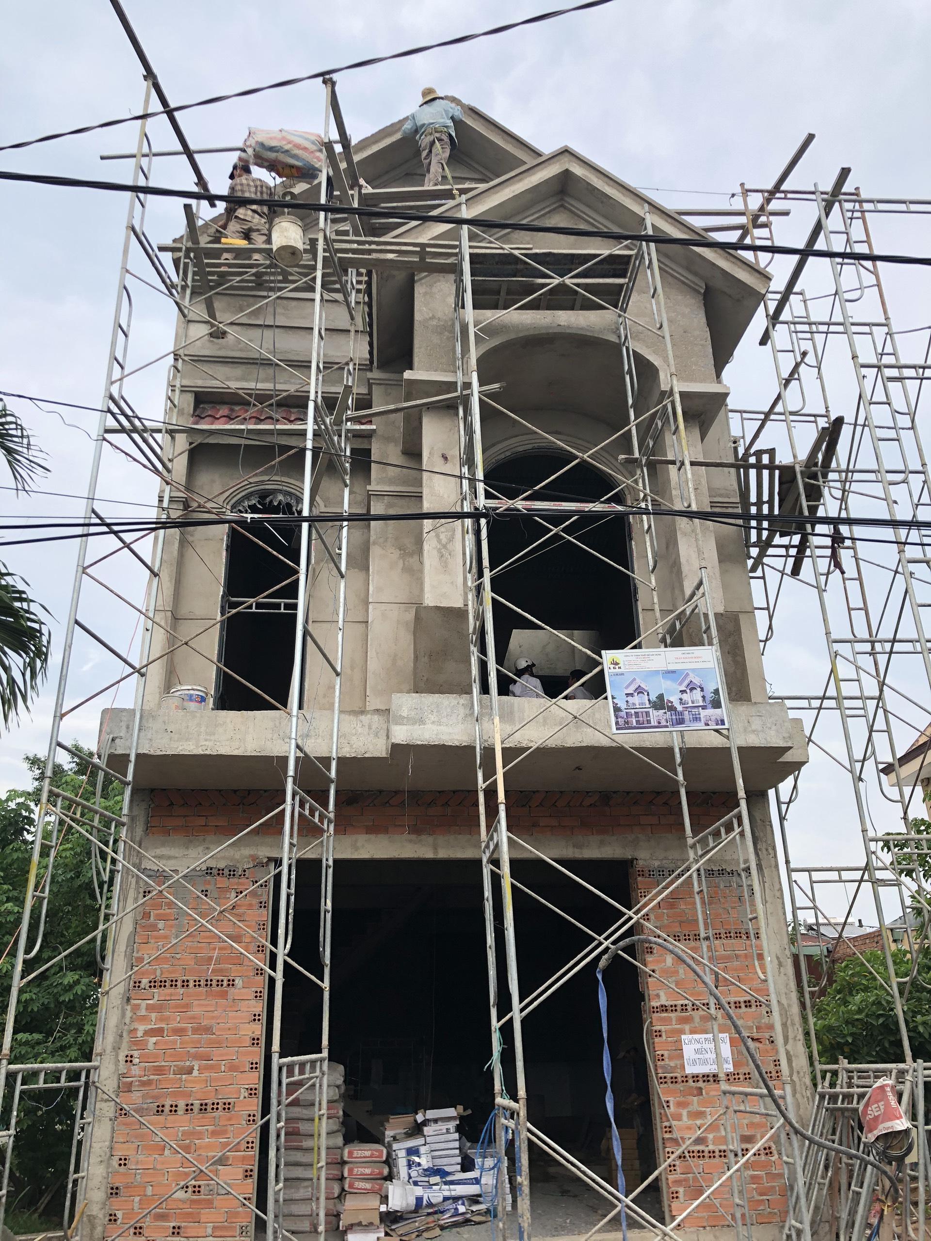Hình ảnh thi công xây dựng công trình Biên Hòa Đồng Nai 26