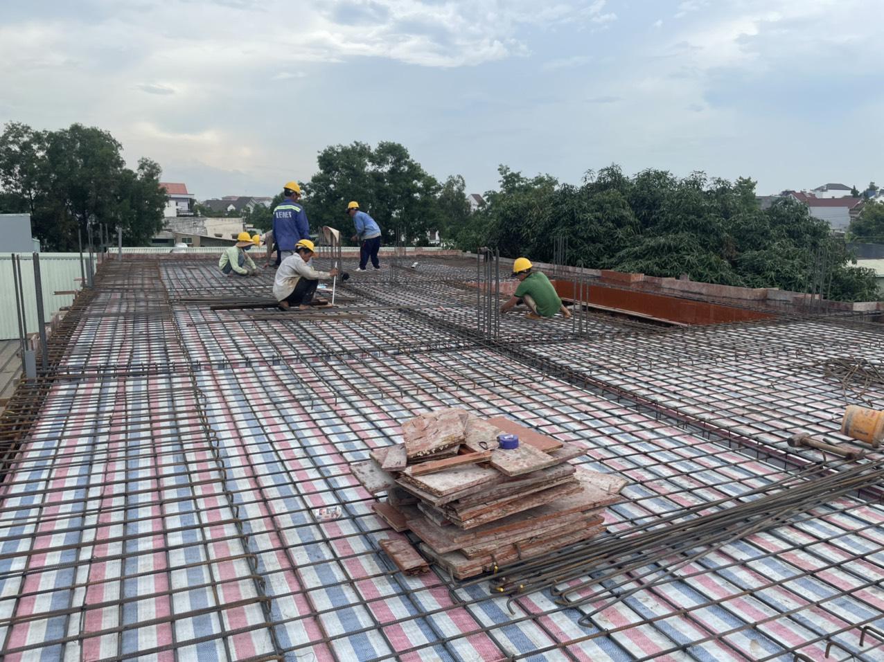 Hình ảnh thi công xây dựng công trình Biên Hòa Đồng Nai 30