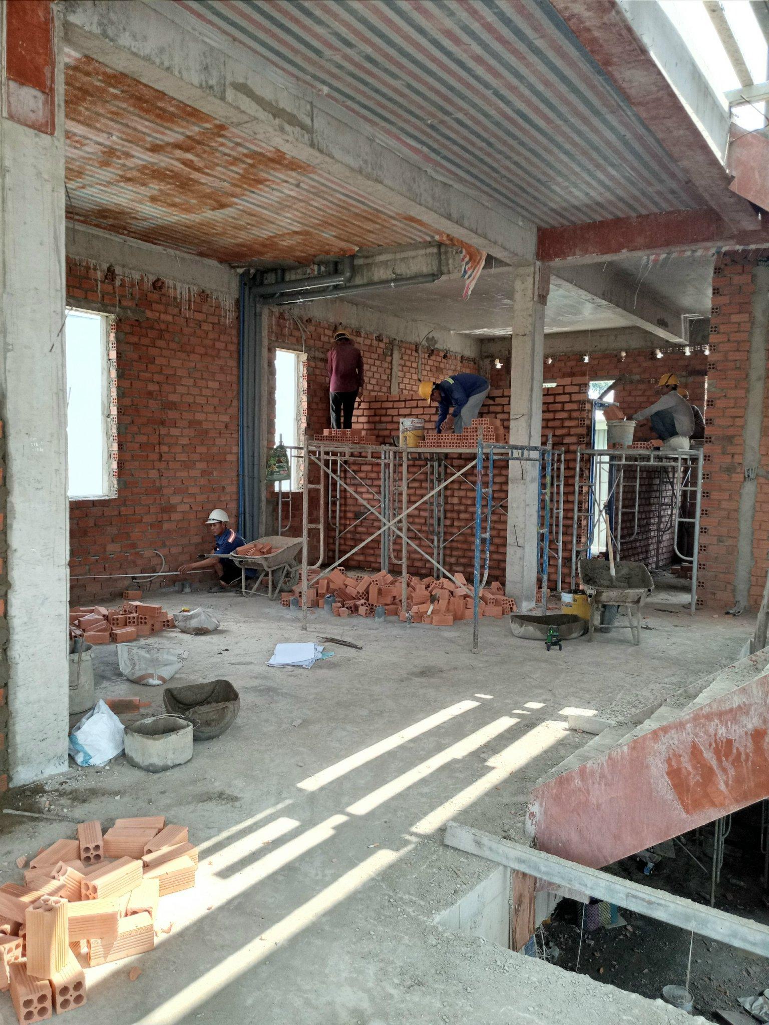 Hình ảnh thi công xây dựng công trình Biên Hòa Đồng Nai 31