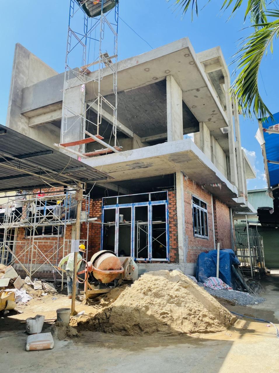 Hình ảnh thi công xây dựng công trình Biên Hòa Đồng Nai 1