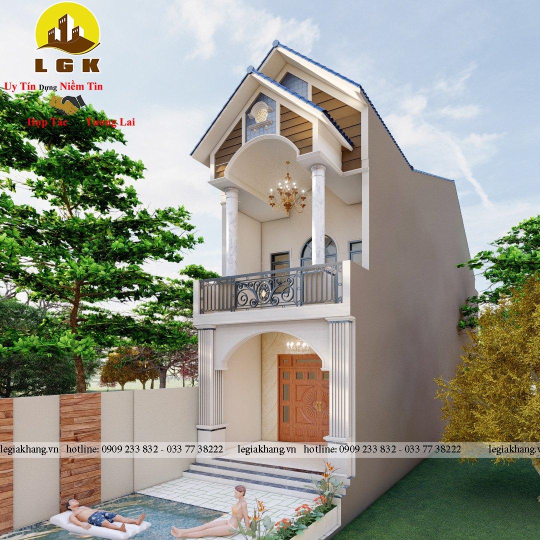 Nhà Phố Mái Thái 5x20 - A Việt 11
