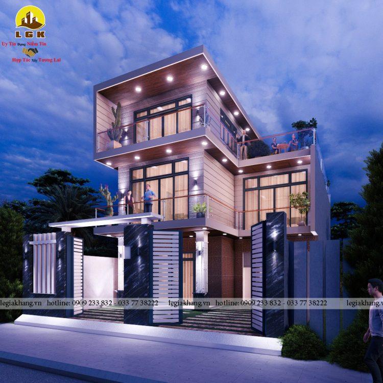 Villa -10x20m 4
