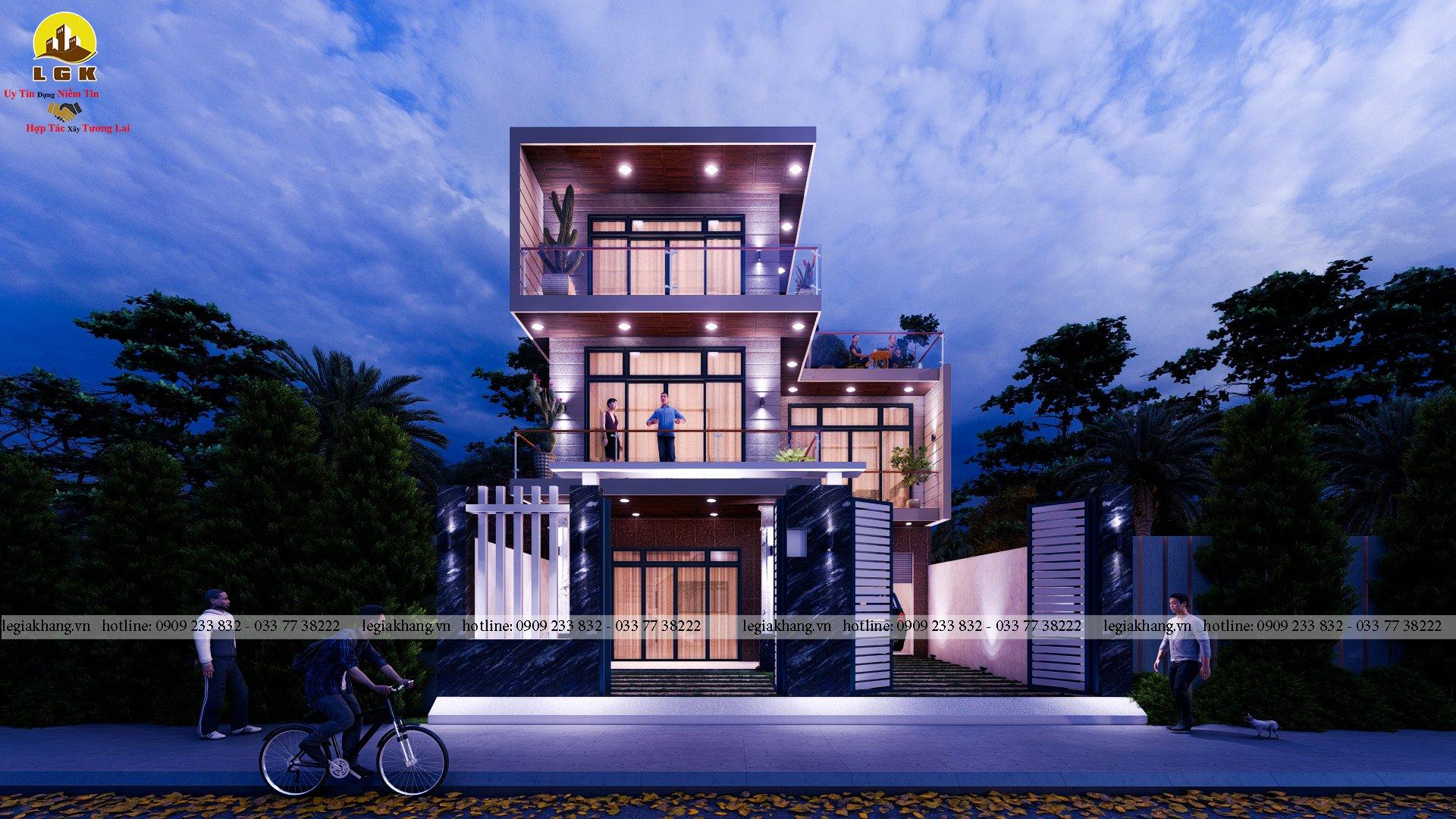 Villa -10x20m 10