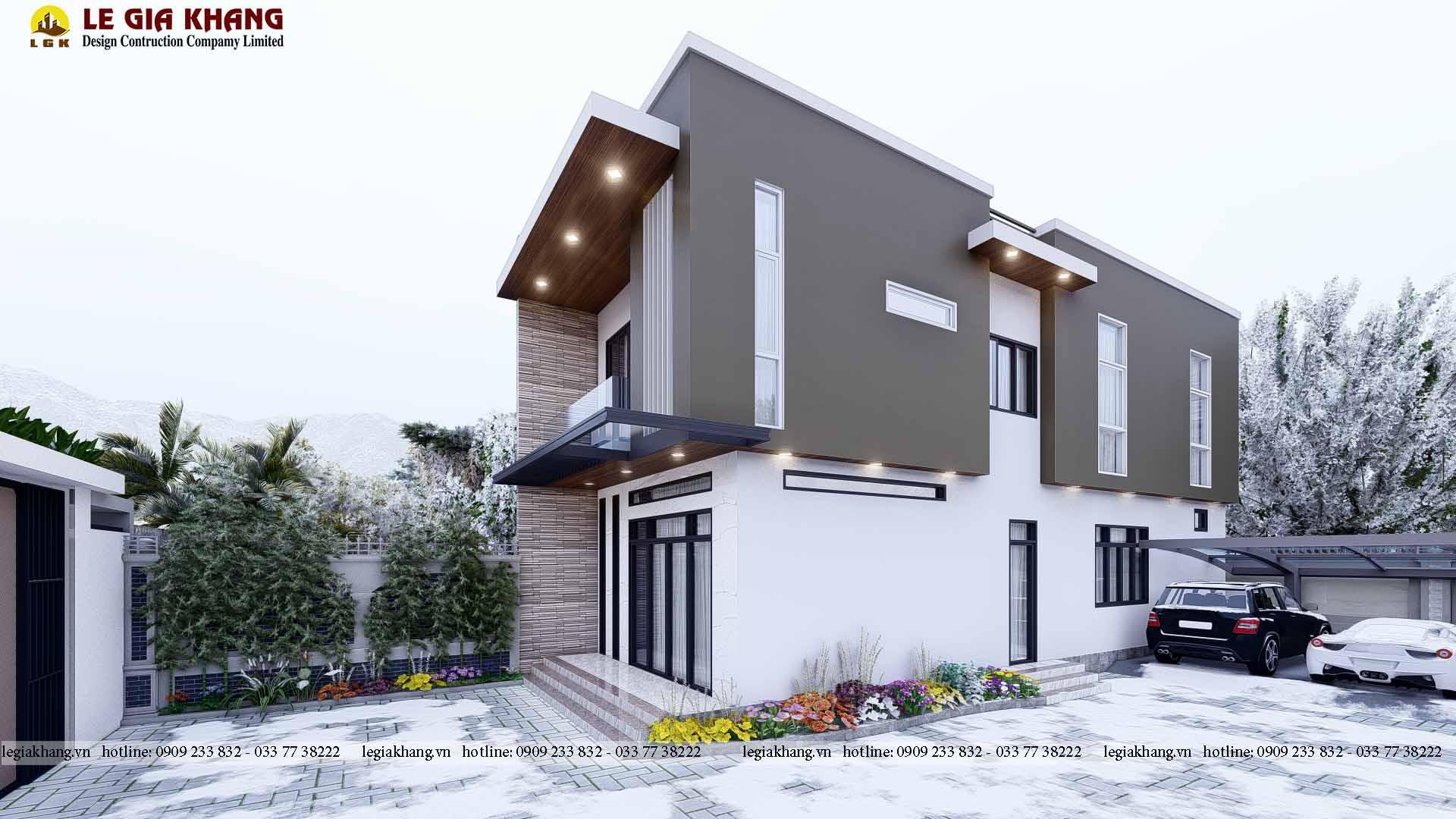 Thiết kế nhà đẹp ở Biên Hòa